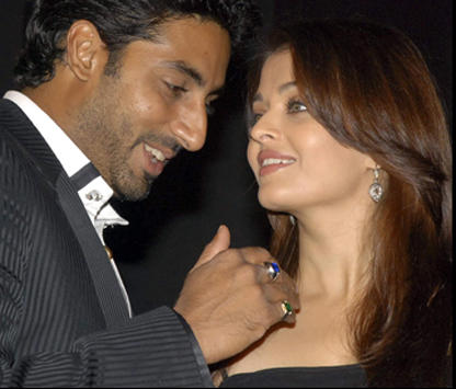 Swetest Couple Abhi and Aish Still