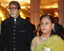 Big B and Jaya at Sahara Wedding