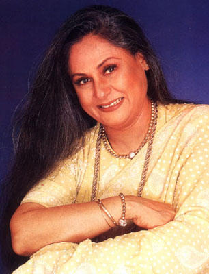 Jaya Bachchan Smiling Face Look Photo