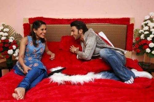 Ranveer Singh On Bed With Koel Puri