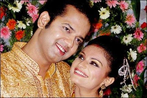 Rahul and Dimpy Swetest Pic