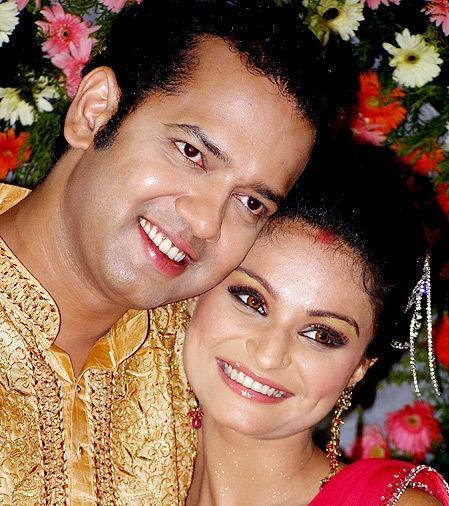Rahul and Dimpy Wedding Reception Photos