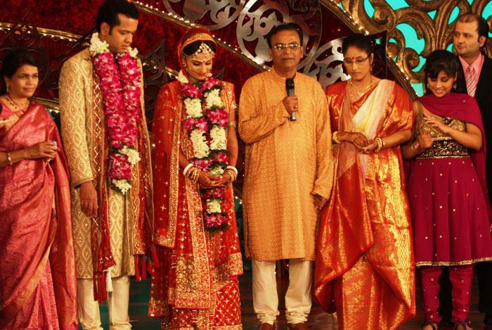 Rahul Mahajan and Dimpy Ganguly Wedding Photo