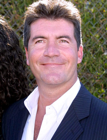 Simon Cowell Close Up Smiling Pic