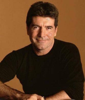Simon Cowell Sweet Smiling Pic