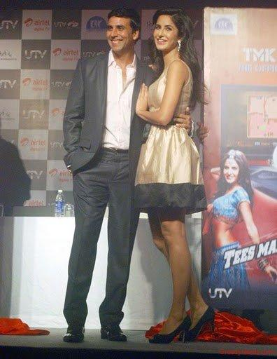 Katrina Kaif and Akshay Kumar launch TMK DTH Game