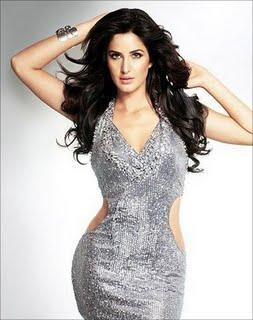 Katrina Kaif In Silver Color Sexy Dress Rocking Pic