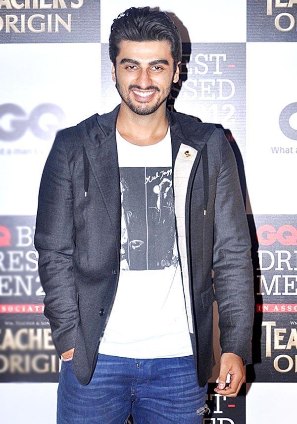 Arjun Kapoor at GQ Best Dressed Men 2012 Magazine Event