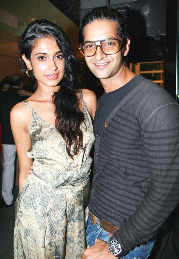 Sarah Jane Dias and Purab Kohli at GQ Best Dressed Men 2012 Magazine Event
