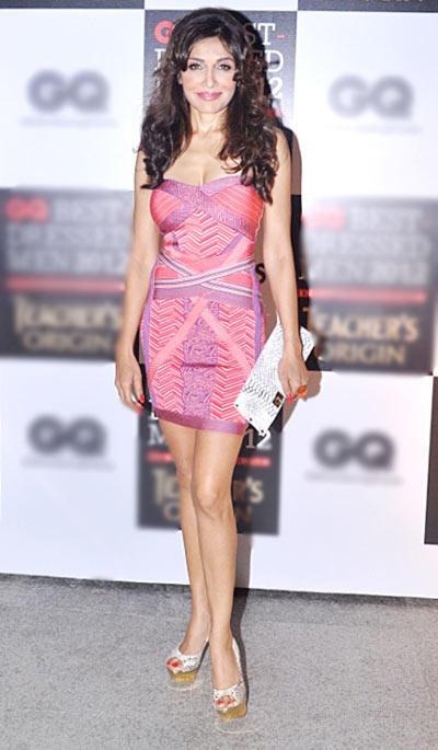 Sexy Queenie Singh at GQ Best Dressed Men 2012 Magazine Event