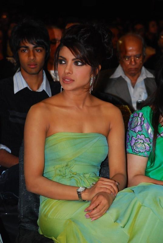 Priyanka Chopra Strapless Dress Sexy Pic