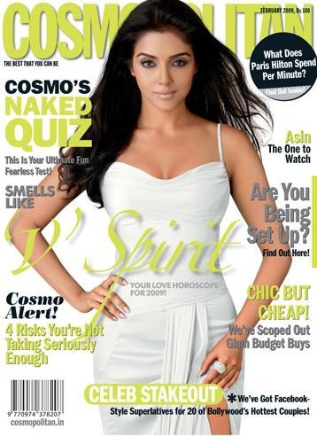 Asin Thottumkal Cosmopolitan Magazine Hot Pic