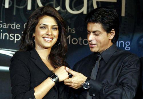 Shahrukh And Priyanka Displayed TAG Heuer Watch