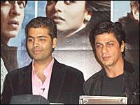 Shahrukh Khan And Karan Johar Nice Stills