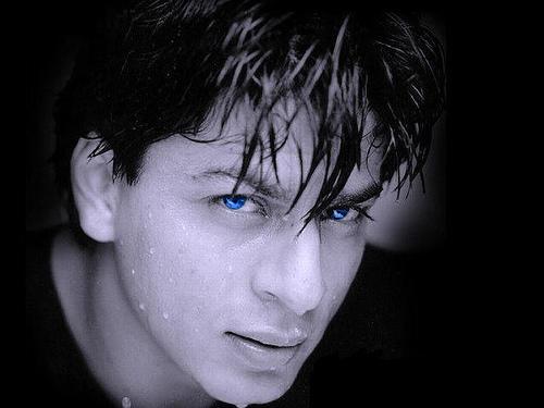 Shahrukh Khan Sexy Blue Eyes Photo
