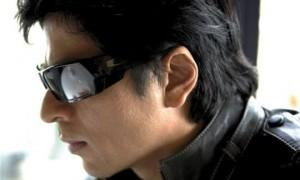 Shahrukh Khan Side Face Look Wear Goggles Pic
