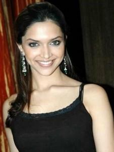 Deepika Padukone Beauty Smile Pic In Black Dress