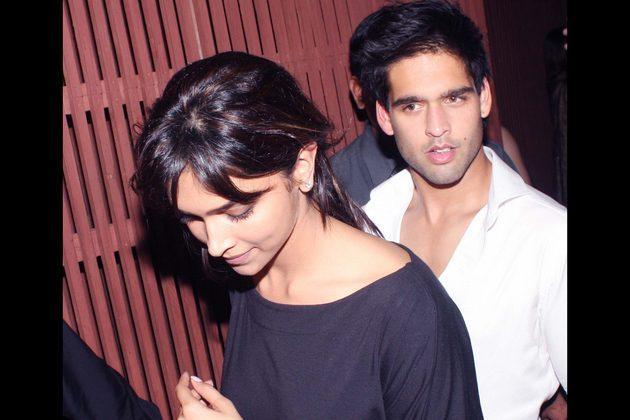 Deepika Padukone With Siddharth Mallya