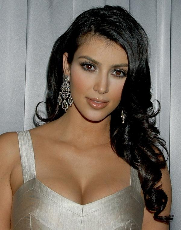 Kim Kardashian Looking Very Beautiful