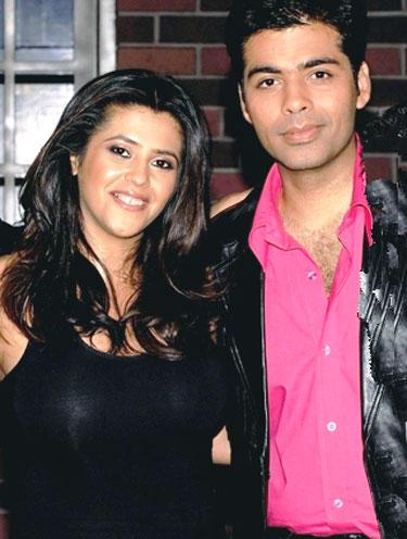 Karan Johar and Ekta Kapoor Gorgeous Pic