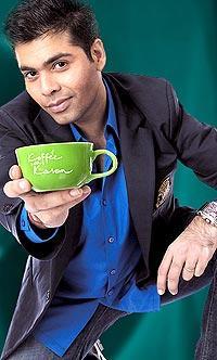 Karan Johar at Koffee With Karan Show