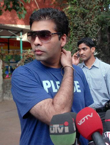 Karan Johar Press Meet Still