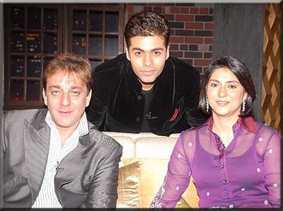 Sanjay at Koffee With Karan Show