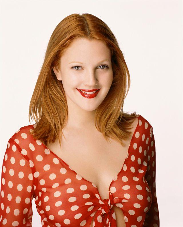 Awesome Drew Barrymore Beauty Smile Photo