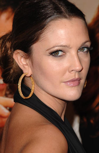 Drew Barrymore Glamour Face Look Still