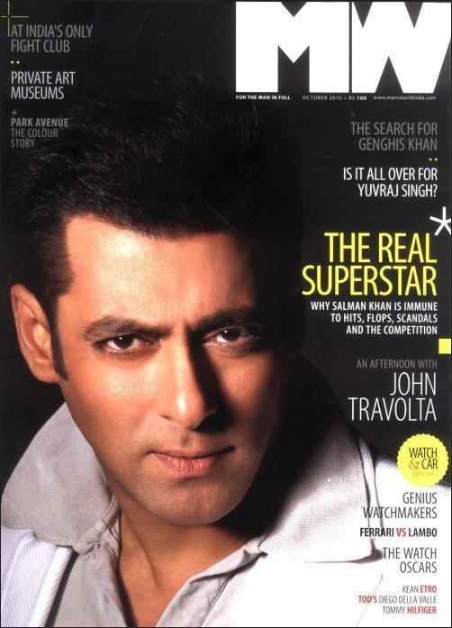 Salman On The Cover Page Of MW Magazine
