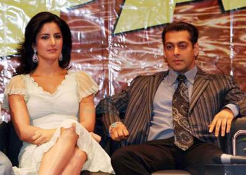 Salman With Katrina Kaif Fresh Stills