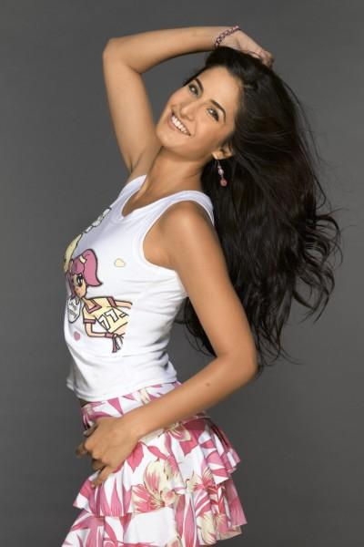 Katrina Kaif In Cute Mini Skirt Sweet Still