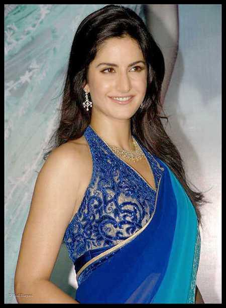 Katrina Kaif Sexy Sweet Still In Dual Saree