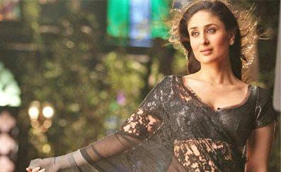 Kareena Kapoor Net Saree Sexy Pic In Bodyguard