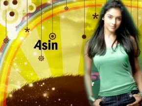 Bollywood Hottie Asin Thottumkal Wallpaper