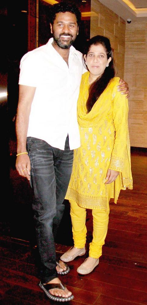 Prabhu With Shabina At Sonakshi Birthday Bash