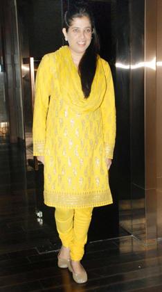Shabina at Sonakshi Bithday Party