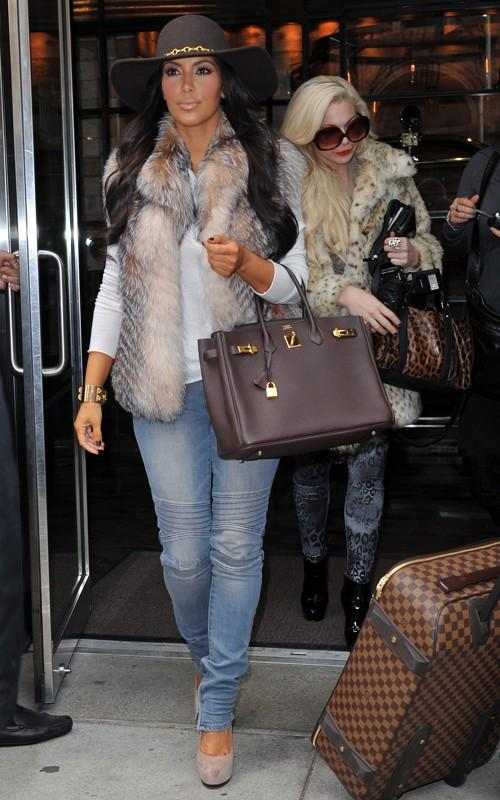 Kim and Kourtney Photo