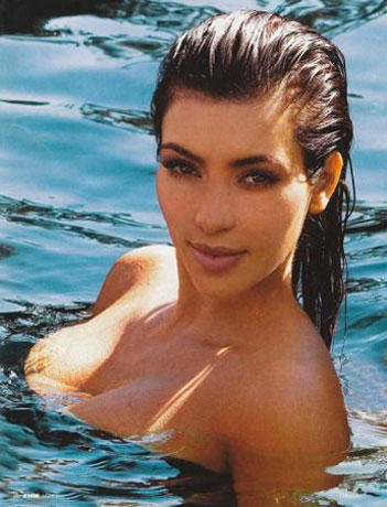 Kim Kardashian Latest Hot Photo Shoot