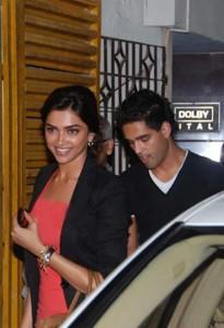 Deepika Padukone With Siddharth