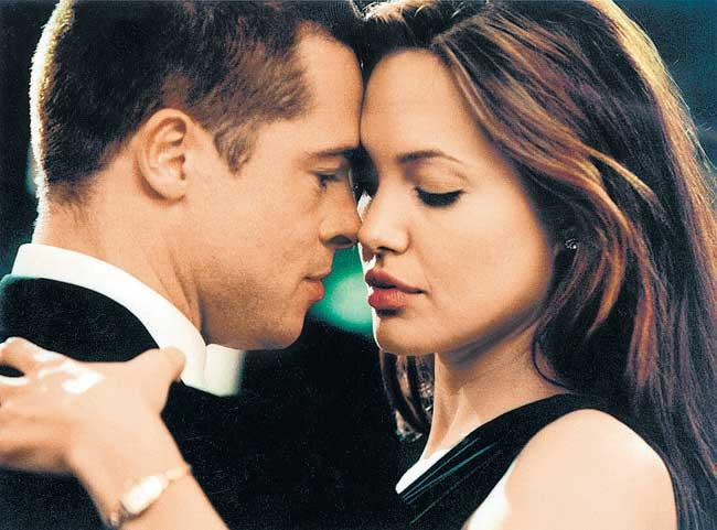 Angelina and Brad Played A Normal Married Couple In Mr & Mrs Smith