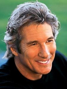 Richard Gere Smiley face Pic
