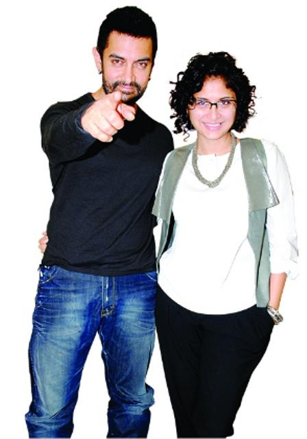 Aamir Khan and Kiran Latest Pic