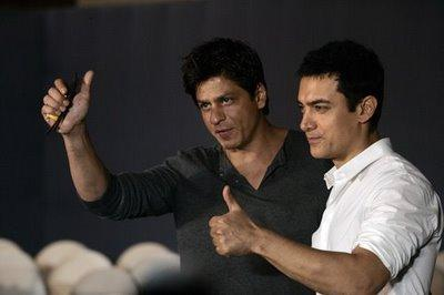 Shahrukh and Aamir khan Latest Pic