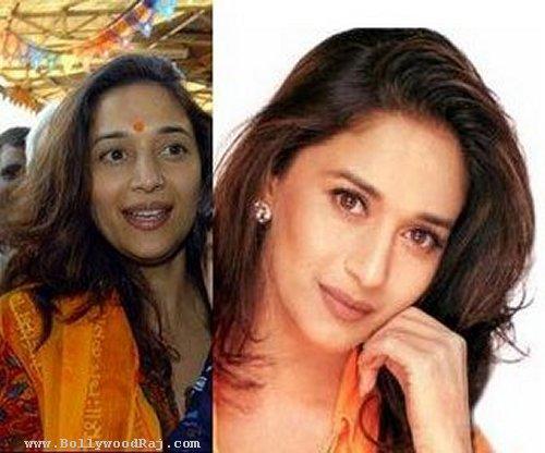 Beautiful Madhuri Without Makeup Still