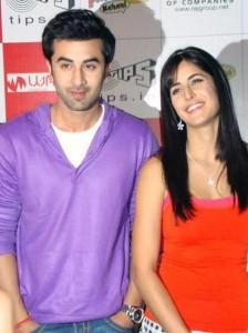 Ranbir Kapoor With Katrina Kaif Smiling Stills