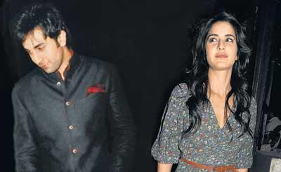 Ranbir With Katrina Kaif Photo