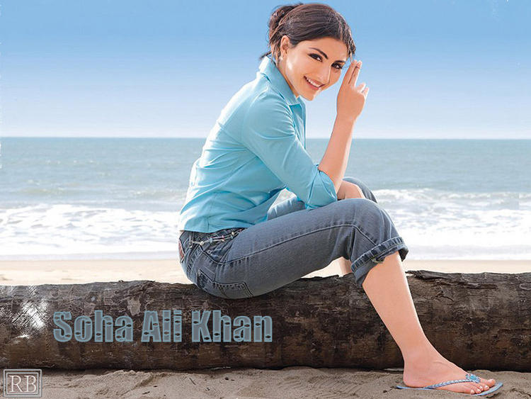 Soha Ali Khan Cool And Fresh Photo