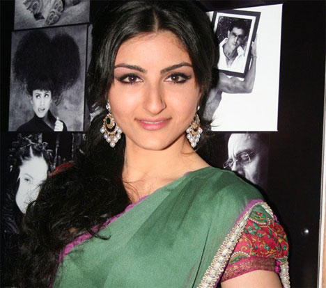 Soha Ali Khan Dazzling Face Look Cool Stills