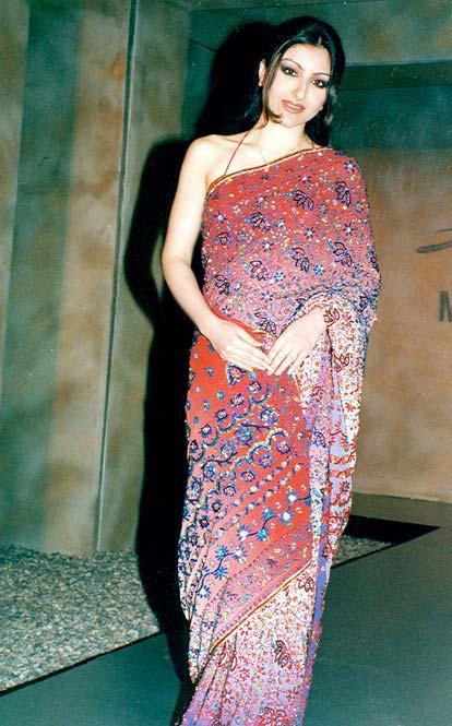 Soha Ali Khan In Saree Hot Stills